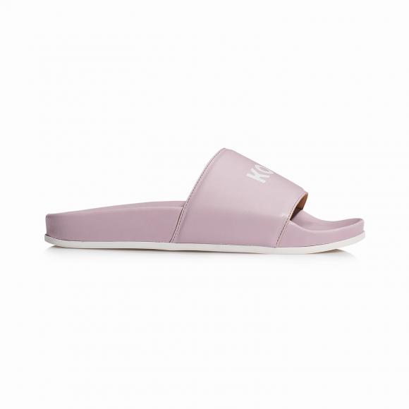 KOIO Men's Slide Pink Sandals Pink Leather Slide 9 (US) / 42 (EU) - 766261329956
