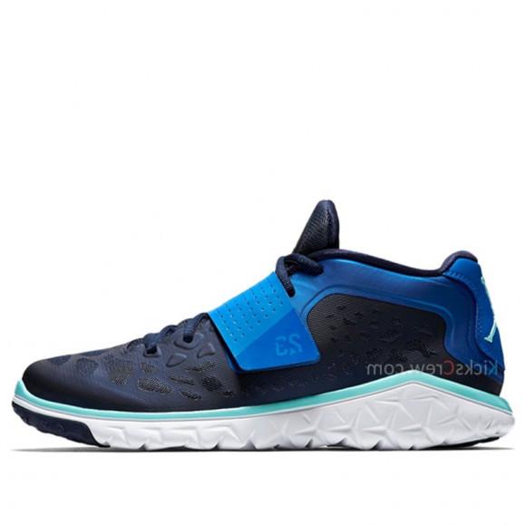Nike Jordan Flight Flex Trainer 2 Midnight Navy Soar Marathon Running Shoes/Sneakers 768911-406 - 768911-406