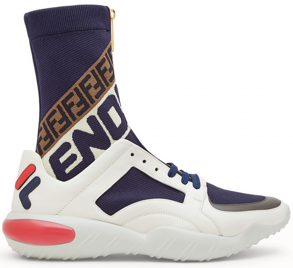 Fila Fendi High-Top Multi-Color Tech - 7E1200A5JYF150T