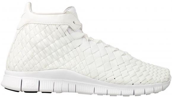 Nike Free Inneva Woven Mid White - 800907-110