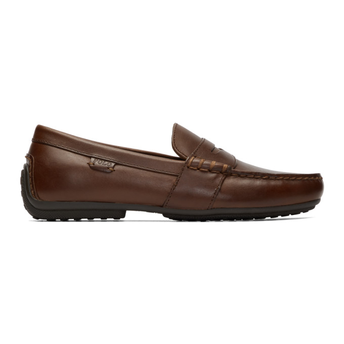 Polo Ralph Lauren Brown Reynold Driver Loafers - 803707787002