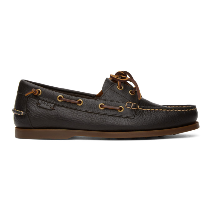 Polo Ralph Lauren Brown Boat Shoe Loafers - 803785000001