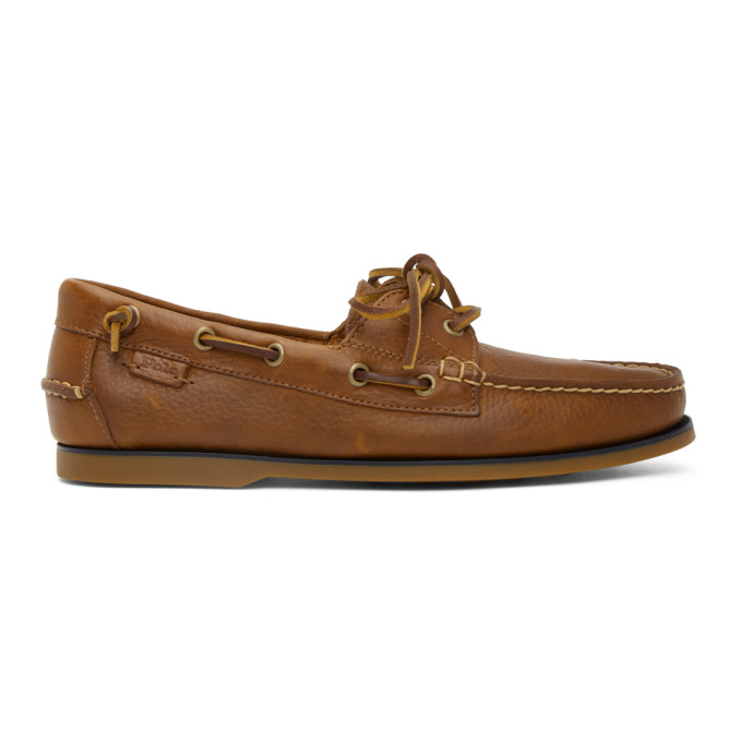Polo Ralph Lauren Brown Boat Shoe Loafers - 803785000003