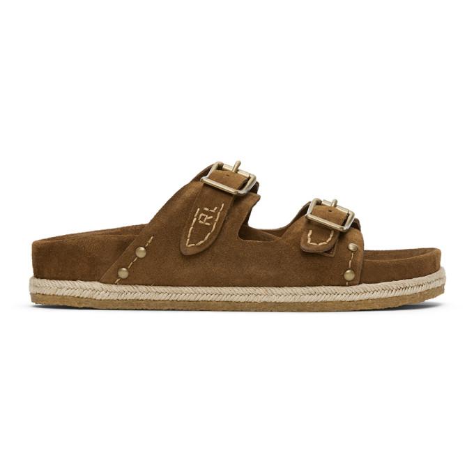 Polo Ralph Lauren Tan Knight Sandals - 803785057001