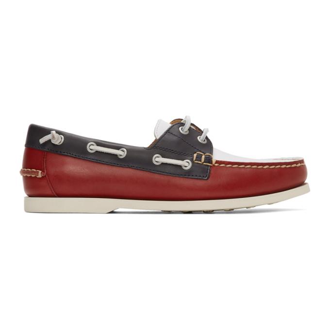 Polo Ralph Lauren Multicolor Merton Boat Shoes - 803786729001