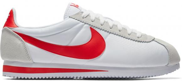Nike Classic Cortez Nylon White Habanero Red - 807472-101