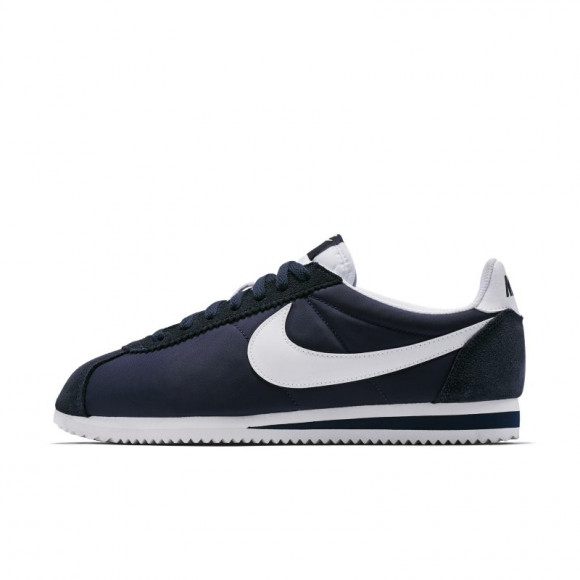 Nike Classic Cortez Nylon Unisex Shoe - Blue - 807472-410