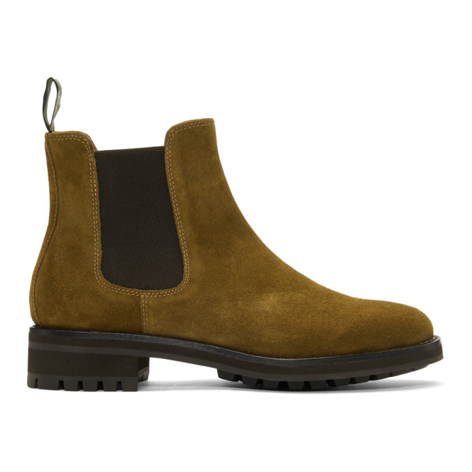 Polo Ralph Lauren Brown Suede Bryson Chelsea Boots - 812764162001