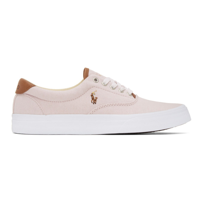 Polo Ralph Lauren Pink Thorton Sneakers - 816793511001