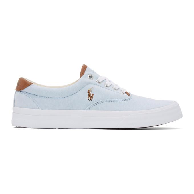 Polo Ralph Lauren Blue Thorton Sneakers - 816793511002