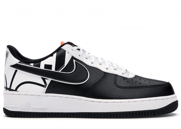 Nike Air Force 1 07 LV8 Black Black-White