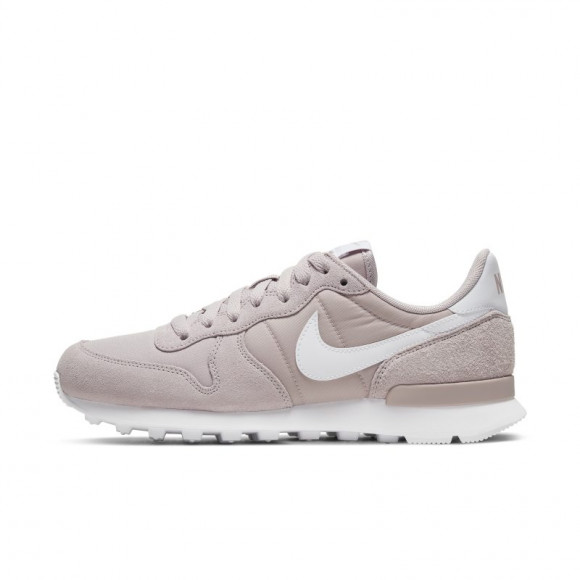 nike internationalist dames grijs paars