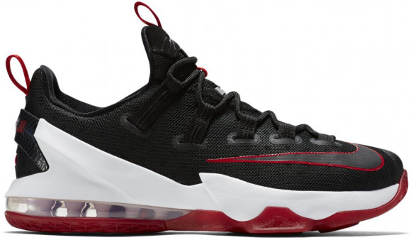 Nike LeBron 13 Low Black Red - 831926-061