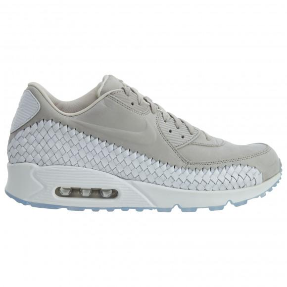 Nike Air Max 90 Woven Light Iron Ore/Light Iron Ore-White - 833129-005