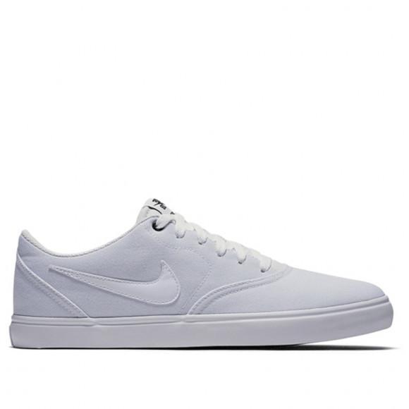 Nike Sb Check Solar Cnvs White White Black Sneakers Shoes 843896 110 843896 110