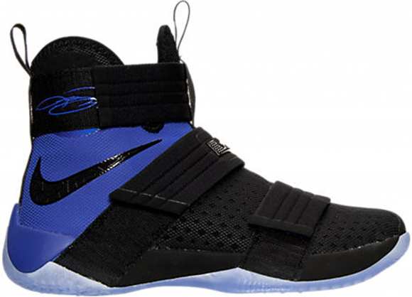 Nike LeBron Zoom Soldier 10 Black Royal - 844378-004