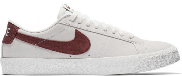 Nike SB Blazer Low Summit White Dark Team Red - 864347-169