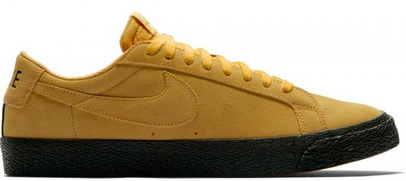 Nike SB Blazer Zoom Low Men's Skateboarding Shoe - Yellow - 864347-701