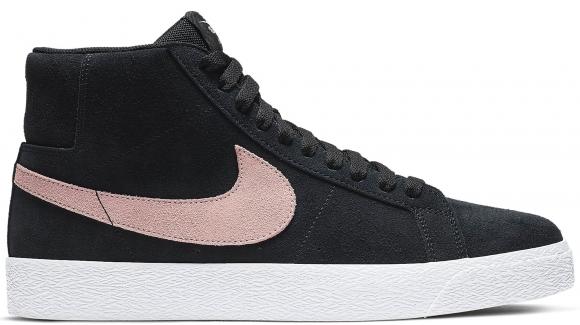 Nike SB Blazer Mid Black Washed Coral