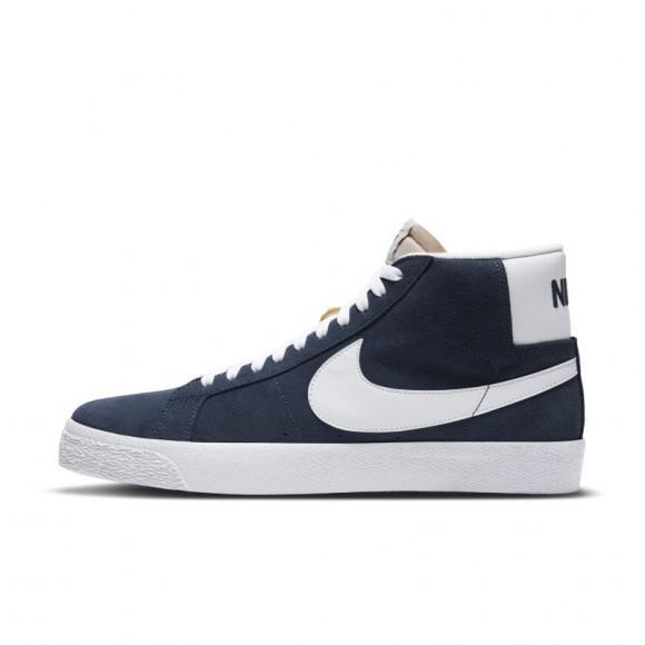 Chaussure de skateboard Nike SB Zoom Blazer Mid - Bleu - 864349-401
