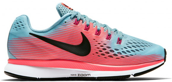 Oblea Preferencia Dalset  Nike Air Zoom Pegasus 34 Mica Blue Racer Pink (W) - 880560-406