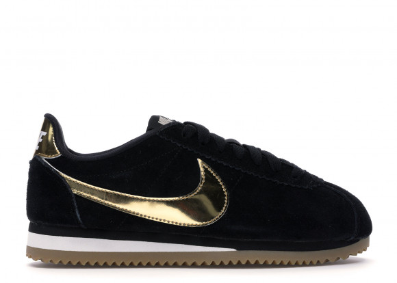 Nike Classic Cortez Black Metallic Gold
