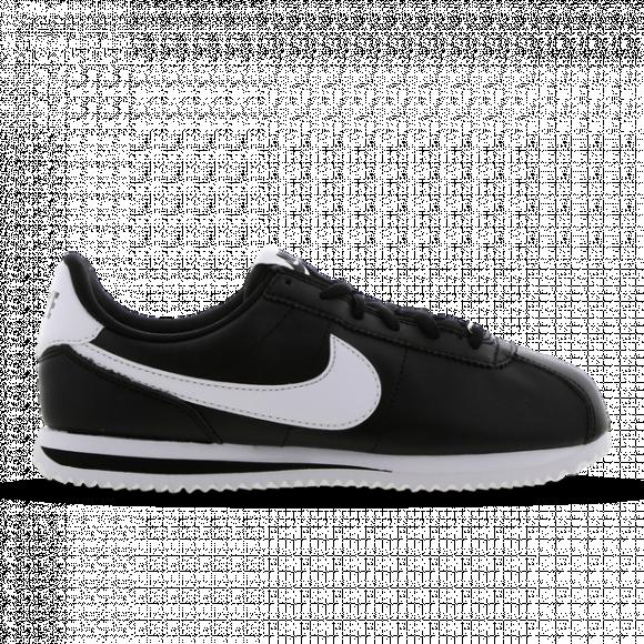 Boys Nike Nike Cortez - Boys' Grade School Running Shoe White/Black Size 06.5 - 904764-102