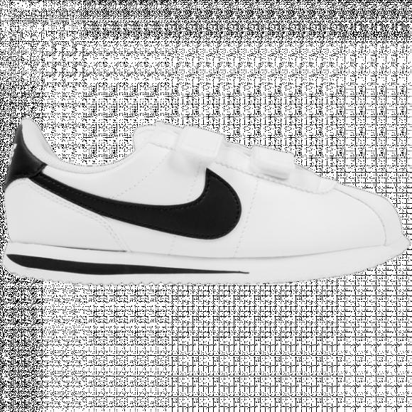 Nike Boys Nike Cortez - Boys' Preschool Shoes White/Black Size 03.0 - 904767-102