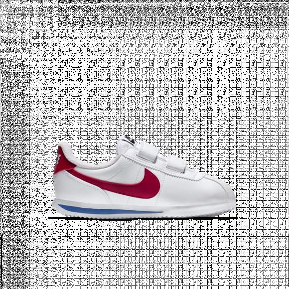 Boys Preschool Nike Nike Cortez - Boys' Preschool Shoe White/Varsity Red/Varsity Royal Size 03.0 - 904767-103