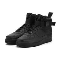 Nike SF Air Force 1 Mid Triple Black - 917753-005