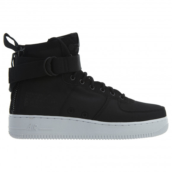 Nike Sf Af1 Mid Black Anthracite-White - 917753-006