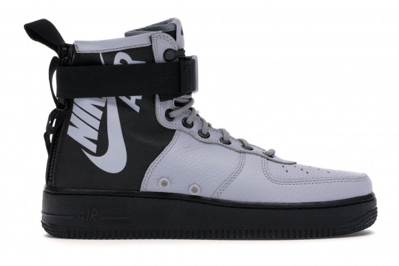 Nike SF Air Force 1 Mid Wolf Grey Black - 917753-009