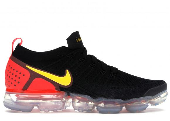 Nike Air VaporMax 2 Black Laser Orange Total Crimson - 942842-005