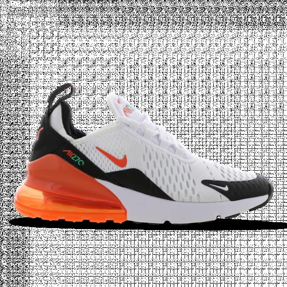 Nike Air Max 270 (GS) White/ Turf Orange-Stadium Green-Black - 943345-107