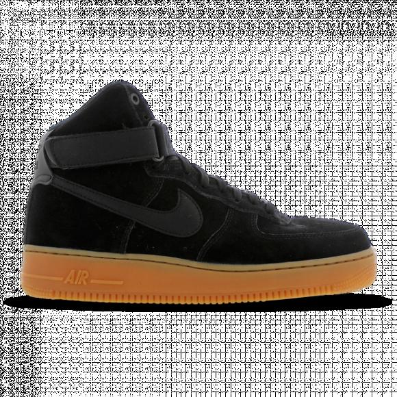 Nike Air Force 1 High 07 Lv8 Suede Black/Black-Gum Med Brown - AA1118-001