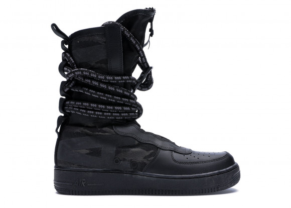 Nike SF Air Force 1 High Black Dark Grey - AA1128-002