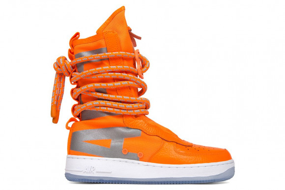 Nike SF Air Force 1 High Total Orange - AA1128-800