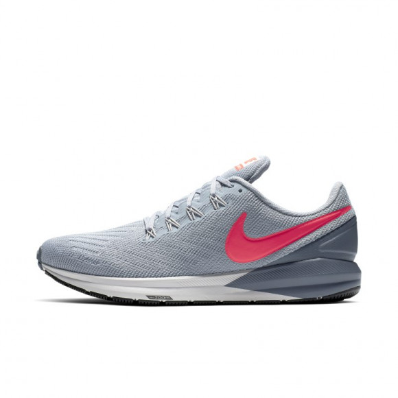 Nike Air Zoom Structure 22 Men's Running Shoe - Blue - AA1636-405