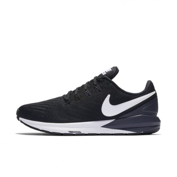 Nike Air Zoom Structure 22 Women's Running Shoe - Black - AA1640-002