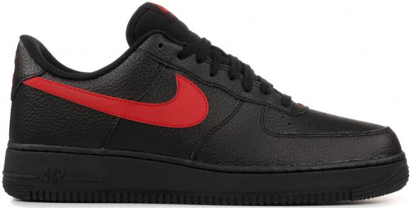 Nike Air Force 1 Low Black University Red