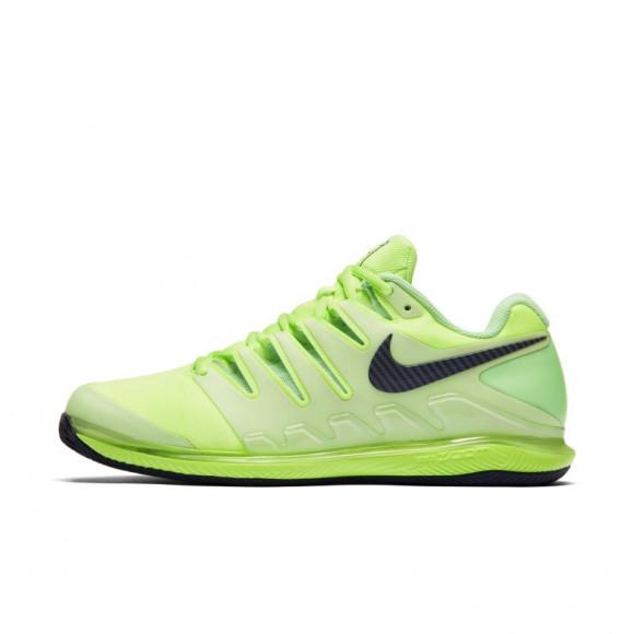 Lujoso Adaptado Aplaudir  NikeCourt Air Zoom Vapor X Zapatillas de tenis para tierra batida - Hombre  - Verde - AA8021-302