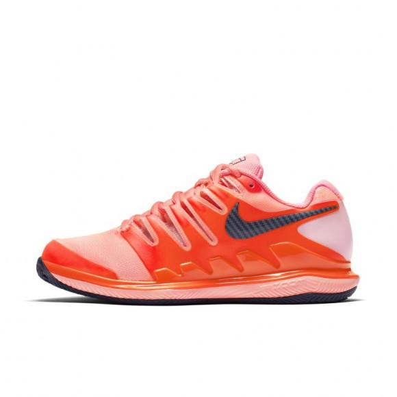 Estoy orgulloso frío calcio  NikeCourt Air Zoom Vapor X Zapatillas de tenis para tierra batida - Mujer -  Rojo - AA8025-604