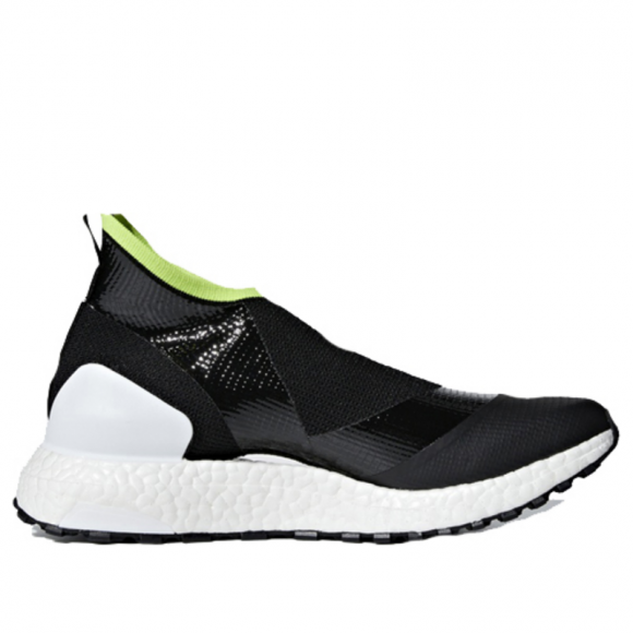 Adidas Stella McCartney x Womens WMNS UltraBoost X AT 'Core Black' Core Black/Cloud White/Solar Slime AC7567 (Size: US 7) - AC7567