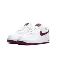Nike Air Force 1 Low Patent White Bordeaux (W) - AH0287-105