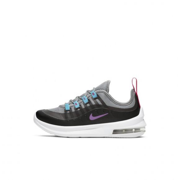 Nike Air Max Axis Athletic Shoe - Little Kid - Gray / Purple - AH5223-013