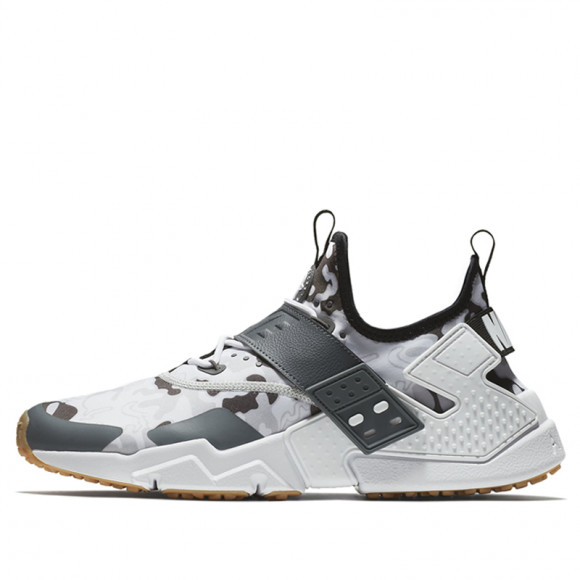 Nike Air Huarache Drift PRM Black Dark Grey Camo Marathon Running ...
