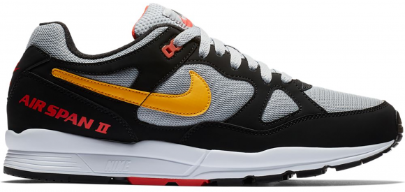 Nike Air Span 2 Black Yellow Ochre - AH8047-010
