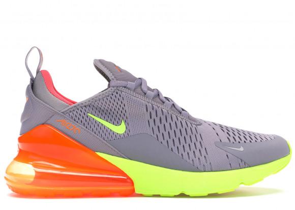 Nike Air Max 270 Grey Volt Orange