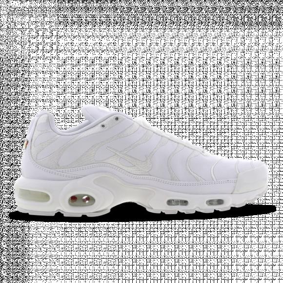 Nike Mens Nike Air Max Plus - Mens Shoes White/White/White Size 09.5