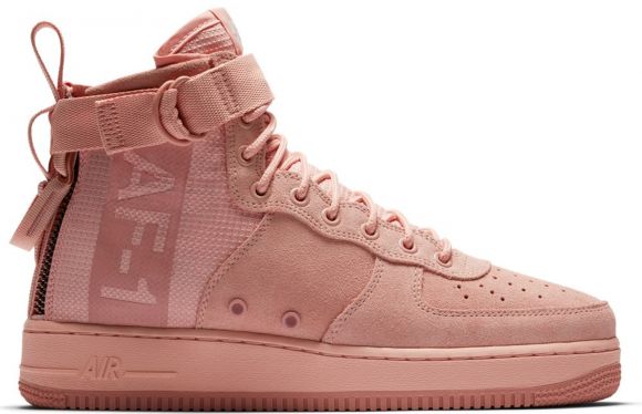 Nike SF Air Force 1 Mid Coral Stardust - AJ9502-600